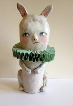 Hearts and Needles: Sarah Hand is my dear friend, but I would find her work delightful even if she wasn't. BEST BET: Surely, someone you know needs a papier-mâché bunny.