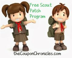 The Coupon Chronicles: Free Girl Scout and Cub Scout Patch Program - American Heritage Girls and Trail Life? Scout Mom, Girl Scout Swap, Daisy Girl Scouts, Girl Scout Leader, Girl Scout Troop, Cub Scouts, Girl Scout Brownie Badges, Brownie Girl Scouts, Girl Scout Cookies