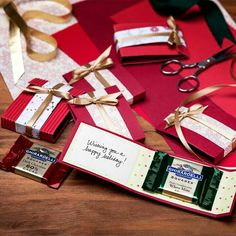 Holiday gift card idea with chocolate! :) Ghirardelli - Premium Chocolate and Chocolate Gifts Christmas Favors, 3d Christmas, Xmas Gifts, Craft Gifts, Diy Gifts, Little Presents, Little Gifts, Gift Cards Money, Candy Crafts