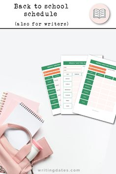 I love the beginning of a new school year even though I left school many years ago. But I still stock up on new school supplies and this fall I have been enjoying making up my own schedule for writing.  I share a filled-out schedule and a blank one as free printables in the latest blog post. 