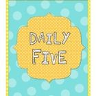 Daily Five Binders - A binder pack you can use to keep kids accountable. A label/divider for all five stations - read to self, read to someone, work on writing, word work and listen to reading, as well as activity logs for those centers and leveled reading response templates. FREE!