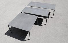 Il tavolo in cemento Boiacca - kristalia