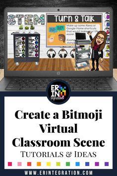 classroom bitmoji virtual backgrounds google science learning erintegration scene scenes distance classrooms teacher reading interactive slides elementary teachers creating template