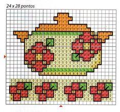biscotti punto croce schemi gratis - Pesquisa Google