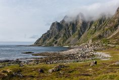 Cliffs of Andøya, Nordland, Norway