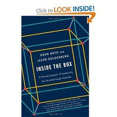 Inside the Box: A Proven System of Creativity for Breakthrough Results: Drew Boyd, Jacob Goldenberg: 9781451659252: Amazon.com: Books