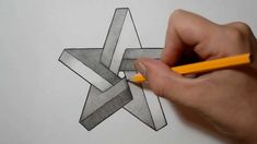 How to Draw an Impossible Star - Optical Illusion