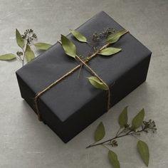 Aromatic Eucalyptus Leaves and Jute Twine Gift Wrap Bundle #affiliate