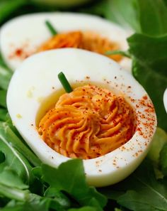 Pumpkin Deviled Eggs | These Four Halloween Apps May Scare The Crap Out Of You