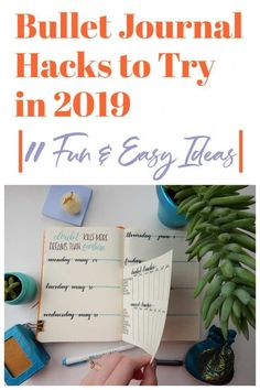 Kick your bullet journal to another level with these 11 bullet journal hacks! They're easy to do, fun, and super effective! Bullet Journal Index, Bullet Journal Hacks, Bullet Journal Spread, Bullet Journals, Brush Lettering Worksheet, Hand Lettering, Filofax, Dot Grid Notebook, Planner Tips