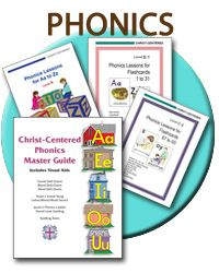 Christ-Centered Publications: Resources for A Homeschooling Curriculum for Early Childhood through 2nd grade
