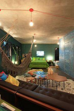 teto decorado com cimento queimado. Teto decorado sugestoes de como fazer. decorar teto. decoracao no teto.