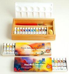Water Colour chart, art spectrum