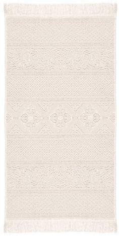 Hübsches gemustertes Badetuch »Harlem« der Marke pad aus 100% Baumwolle. Dieses Badetuch verschönert mit ihrem tollen Design Ihr Badezimmer im Handumdrehen. Freuen Sie sich auf schöne Farben, einen praktischen Kordelaufhänger und die kuschelige Jacquard-Zwirnfrottier Qualität. Zusätzlich ist das Badetuch extrem saugfähig, kann bei 60 Grad in der Maschine gewaschen und im Trockner getrocknet wer...