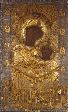 Orthodox Catholic, Orthodox Christianity, Russian Icons, Madonna And Child, Orthodox Icons, Renaissance Art, Byzantine, Holy Spirit, Religion