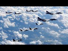 Cả thế giới sợ hãi khi Mỹ điều hàng loạt máy bay ném bom áp sát Triều Tiên