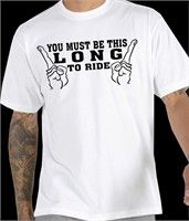 You Must Be This Long T-Shirt (Mens) - http://www.cheaptshirts.biz/you-must-be-this-long-t-shirt-mens/