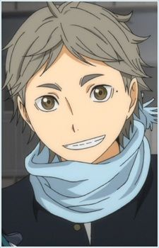 Koushi Sugawara from Haikyuu!!