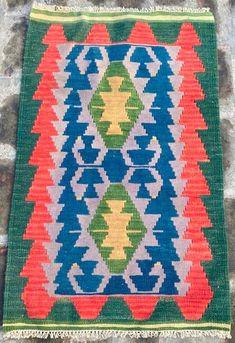 Aubusson Rugs, Afghan Rugs, Kilim Rugs, Wool Rug, Vintage Rugs, Hand Weaving, Retro, Kilims, Handmade