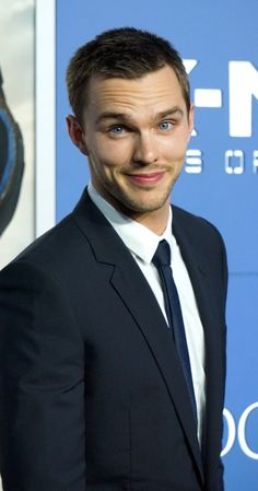 Nicholas Hoult at event of X-Men: Days of Future Past (2014)