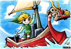 The Legend of Zelda, The Wind Waker by frnj.deviantart.com on @deviantART