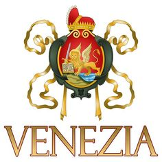 'Venezia (Venice) Italy - Coat of Arms' by Chunga Framed Prints, Canvas Prints, Art Prints, Passports For Kids, Monogram Styles, Coat Of Arms, Venice Italy, Wall Tapestry, Art Boards