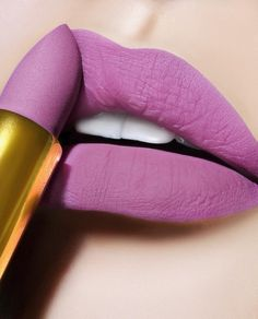 LUST: MatteTrance Lipstick Shade 'FAUX PAS' — a mid-tone lavender purple lip shade ⚡️| New spring 2018 makeup | Shop the look at PATMcGRATH.COM