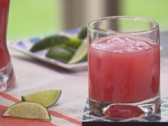 Trisha's Signature Cocktail  4 ounces Ruby Red grapefruit juice 2 ounces cranberry juice 2 ounces vodka Lime wedge, for garnish  Read more at: http://www.foodnetwork.com/recipes/trisha-yearwood/trishas-signature-cocktail.html?oc=linkback