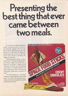 astronaut stick breakfast food 1970 - photo #20