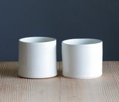ready made  one short white porcelain cup / by vitrifiedstudio, $20.00