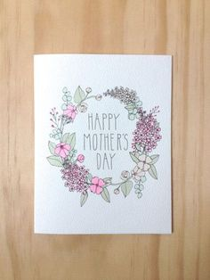 Handmade Mother's Day Cards | DIY Mother's Day Ideas #mothersdaygift