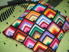 patrones de cojines a crochet gratis - Buscar con Google