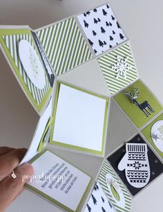 paperlapapp I Martina Lemke I Stampin up! Demo in Essen All Things Christmas, Christmas Diy, Xmas, Pop Up Cards, Card Tutorials, Card Maker, Up Styles, Mini Books, Stampin Up