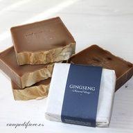 Jabón natural de Gingseng