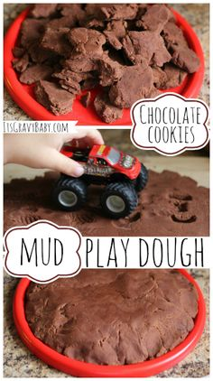 Play Dough How To: Chocolate Cookies & Mud
