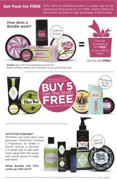 Just a few examples of the Buy 5, Get the 6th FREE bundles!! #perfectly #posh