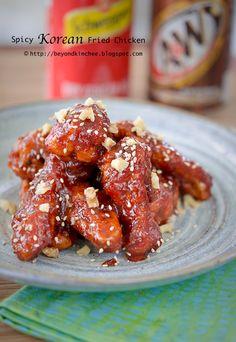 Korean Fried Chicken 2, the spicy version