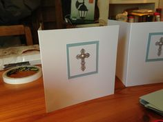 Christening cards made and sent out Baptism Cards, Baby Cards, Christening, Frame, Home Decor, Picture Frame, Decoration Home, Room Decor, Frames