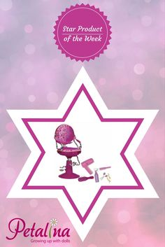 Hair styling has never been easier, at only £39.99 with accessories, this Our Generation dolls salon chair is a must!