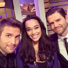 Romy Monteiro with Nick & Simon!