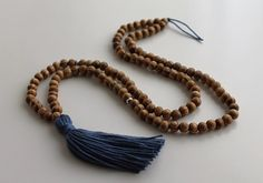 * Size: 33 Loop Mala Necklace   * Pacifying Kapha and Balancing the Emotional and Physical Body  * Meditation Mala  * This item is handmade. Beads may