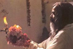 Maharishi Mahesh Yogi in Rishikesh