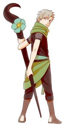 Finally a good art of Mizukage-sama! >_<