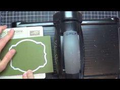 ▶ Flip Flop Framelits Card Tutorial part2 (like Flip-its) - YouTube