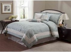 Paramount Ashford Collection 7-Piece King Bedding Set | Luther Appliance and Furniture