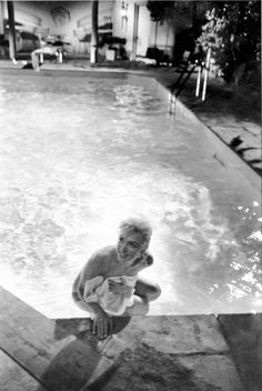 """""""Marilyn Monroe during the filming of Something's Got To Give, August 1962."""""""