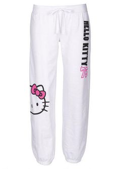Hello Kitty 76 Pant White - fr