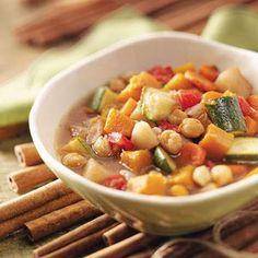 Moroccan Vegetarian Stew Recipe #vegan #stew #recipe