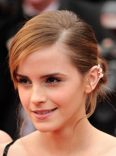 The Bling Ring at the Cannes Film Festival 2013 | love the hair, makeup + earrings