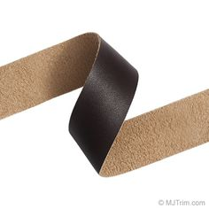 "1"" FAUX LEATHER TAPE -- add to plain linen drum shade"